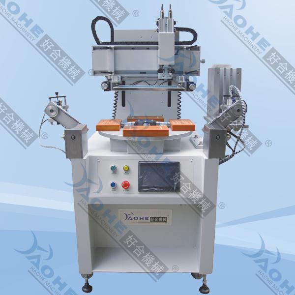 HPA-360F 精密轉盤全自動絲印機